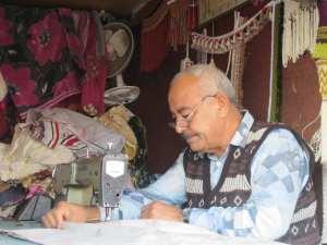 croitor in atelier