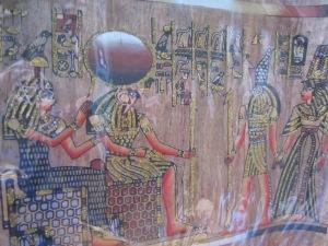Amentet, Re-Horakhty, Horus si Nefertari