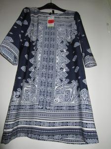 rochie-bluza cu imprimeuri, Mango