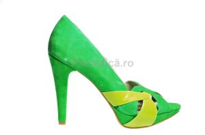 pantofi-sandale-cu-toc-piele-verde-galben