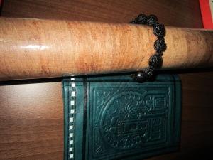 papirus, shambala, portmoneu piele