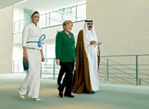 Emir des Staates Katar Scheich Hamad bin Khalifa Al Thani in Deutschland / Staatsbesuch 2010