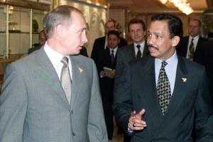 Hassanal Bolkiah si Putin